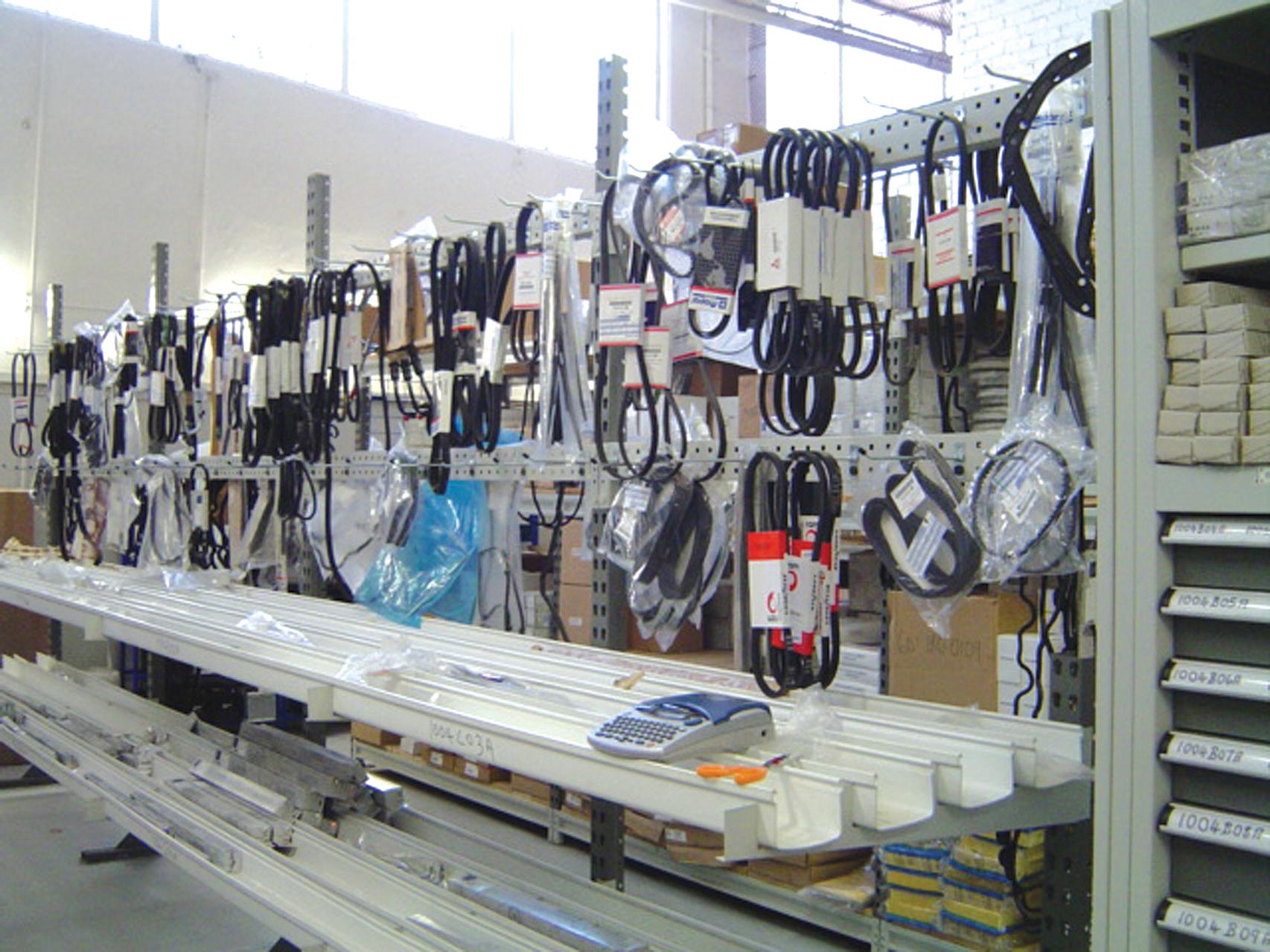 Specialised Industry Racking Pandae Storage