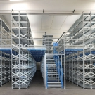 Shelf Supported - 2 Tier Mezzanine Floors