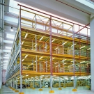 Rack Supported – 3 Tier Mezzanine Floors
