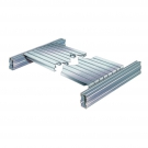 2. Modular heavy duty steel shelf panels H25/ H29 with flanged ends